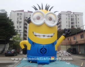 25' high giant inflatable minion bounce house