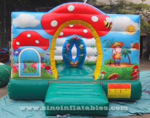 indoor paradise toddler kids bouncy castle