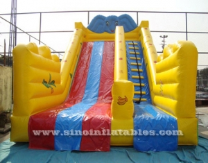 China giant elephant inflatable slide for sale