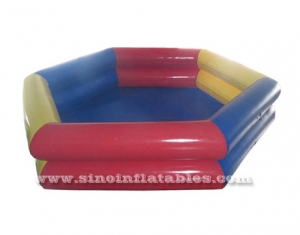 double rail small inflatable swimming pool