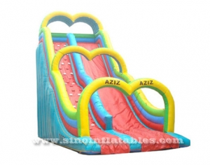 giant Aziz adults inflatable slide