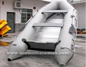 rescue rigid inflatable motor boat
