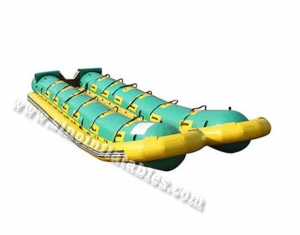 5.40L x 2.04W meters 12 person double row inflatable boat