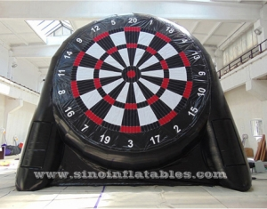 double side giant inflatable soccer dart board