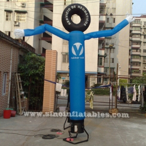 single leg tyre inflatable windy man