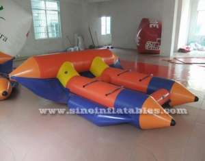 Hot sale 4 person inflatable flying fishing boat