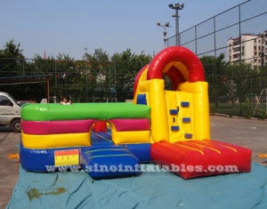 Backyard kids inflatable combo game