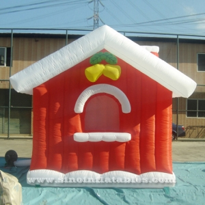 Christmas inflatable snow house