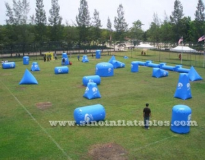 Hot sale paintball barrier inflatable air paintball bunkers for shooting game-Sino Inflatables