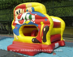 kids forest king lion bouncy castle