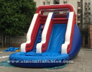 outdoor kids inflatable water slide
