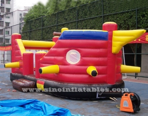 children party pirate ship inflatable bouncer