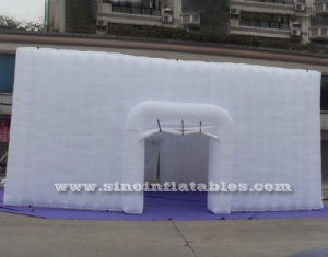 big party or event inflatable cube tent
