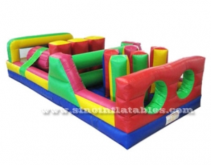 kids energy challenge inflatable obstacle course