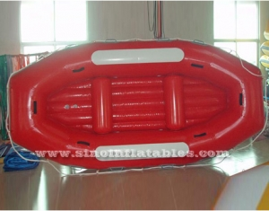 4 persons inflatable sail boat