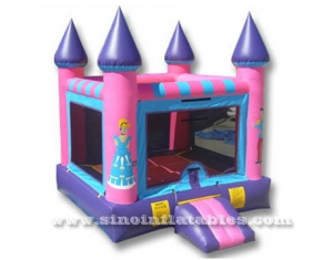 small size prince N princess inflatable jumper