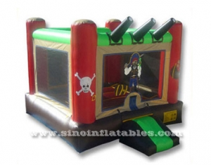 indoor kids pirate bounce house