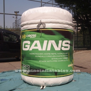 large GAINS inflatable bottle