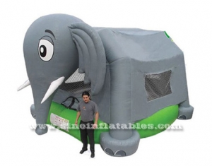 big elephant children inflatable bouncy castle