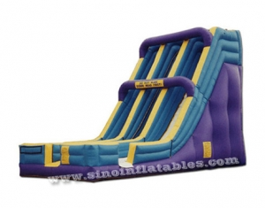 giant adults double lane inflatable slide