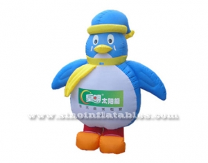 penguin inflatable moving carton