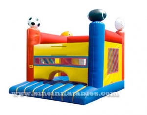 kids sports arena inflatable bouncer