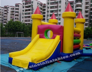 4in1 outdoor commercial jumping castel