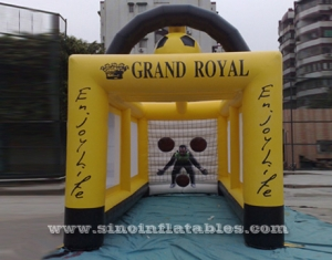 giant inflatable football goal tent