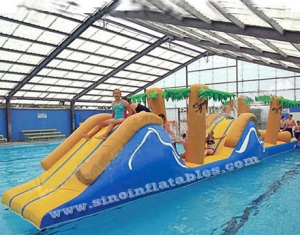 15 mts long kids jungle hill kids inflatable water toy