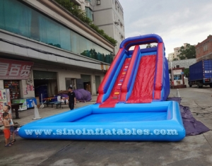 Kids Commercial Blow Up Inflatable Pool Slide