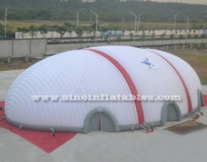 40x20 meters sports playground giant inflatable dome tent