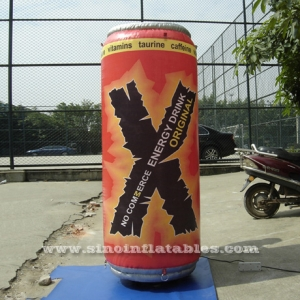vitamins energy drink inflatable can