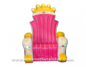 air tight throne inflatable king chair