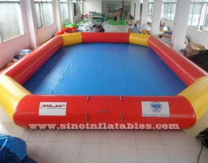 rectangle kids big inflatable water pool