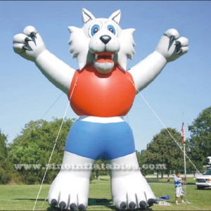 10 meters high inflatable lion