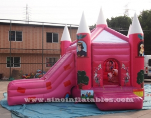 prince N princess bouncy castle