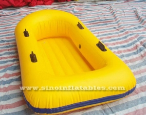 Outdoor kids N adults yellow inflatable kayak