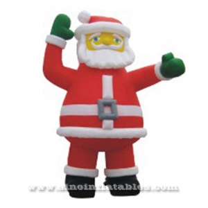 giant promotional Christmas inflatable Santa Claus