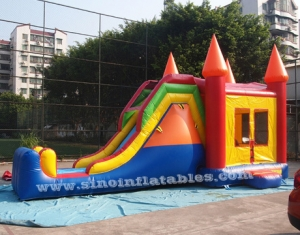 Outdoor inflatable combo game