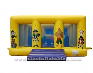 kids pirate inflatable jumping castle