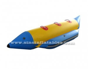3 persons single row inflatable banana boat