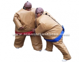 inflatable foam padded sumo suits