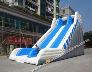 adults giant everest inflatable slide