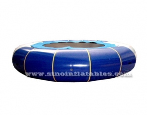 big inflatable water trampoline with springs for kids N adults