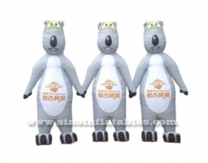 inflatable three little bear moving carton
