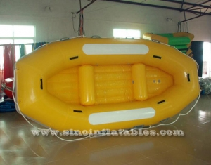 4 persons inflatable river raft