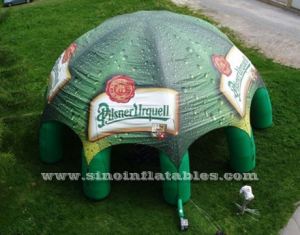 beer advertising inflatable tent