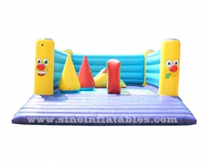 indoor children party clown inflatable bouncer