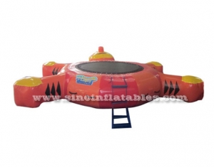 tortoise children inflatable water trampoline
