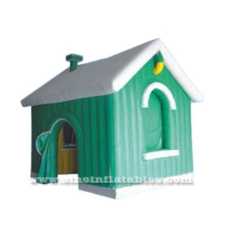 Advertising inflatable Christmas house